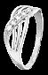 Серебряное кольцо с цирконием Брунилда 000025831