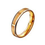 Золотое обручальное кольцо Forever in love