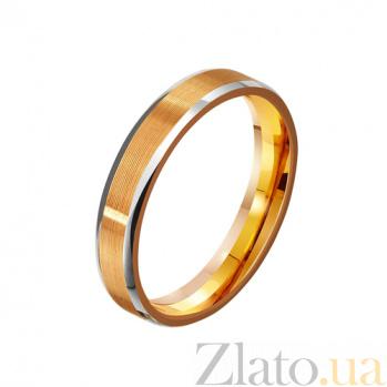 Золотое обручальное кольцо Forever in love TRF--411996