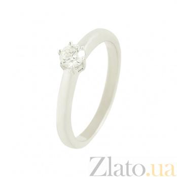 Золотое кольцо с бриллиантом Марианна 1К071-0013