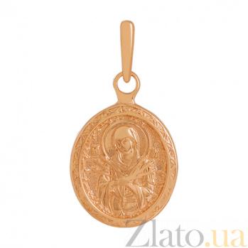Золотая ладанка Богородица Семистрельная VLN--314-1795