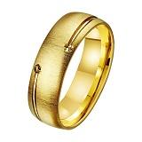 Золотое обручальное кольцо Сокровище любви