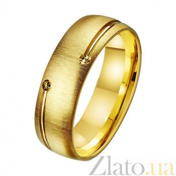 Золотое обручальное кольцо Сокровище любви TRF--431313