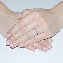 Кольцо в белом золоте Анита с бриллиантами