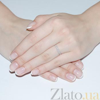 Кольцо в белом золоте Анита с бриллиантами SVA--1190519202/Бриллиант