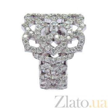 Золотое кольцо с бриллиантами Aurora ZMX--RD-00299w