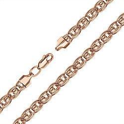 Браслет из красного золота в плетении Нонна 000133672