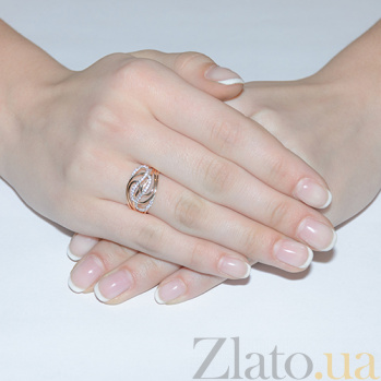 Золотое кольцо Минерва EDM--КД0488