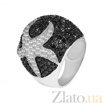 Серебряное кольцо с фианитами Ариэль 10000169