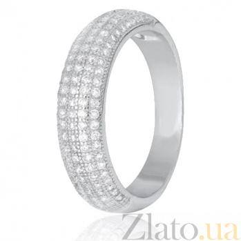 Кольцо из серебра с фианитами Уинифред 000028273
