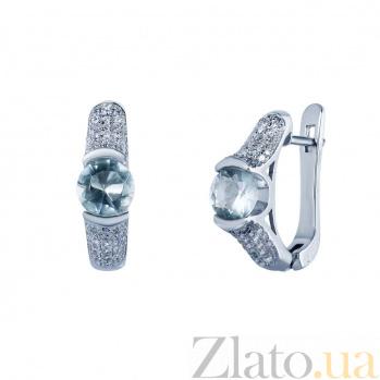 Серебряные серьги Крис AQA--WJE-0019-2T_akv