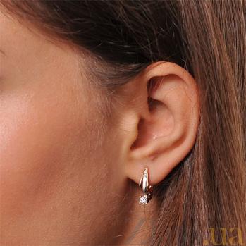 Серьги с бриллиантами Ариадна EDM-С7483