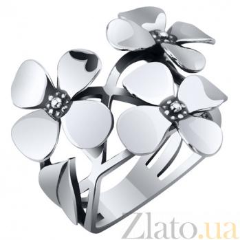 Серебряное кольцо Цветы сирени AUR--71731*