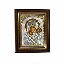 Икона Казанская Божья Матерь, 237х287мм