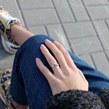 Серебряное кольцо Infinity small