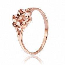 Серебряное кольцо Дементия с позолотой