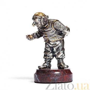 Серебряная статуэтка Часовщик 661