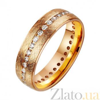Золотое обручальное кольцо  Land of Love TRF--412405