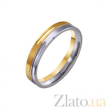 Золотое обручальное кольцо День Святого Валентина TRF--451715