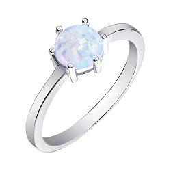Серебряное кольцо с опалом 000139615