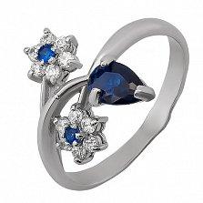 Серебряное кольцо Зверобой