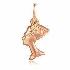 Серебряный подвес Звезда Египта с позолотой