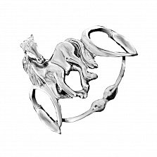 Серебряное кольцо Ветер перемен