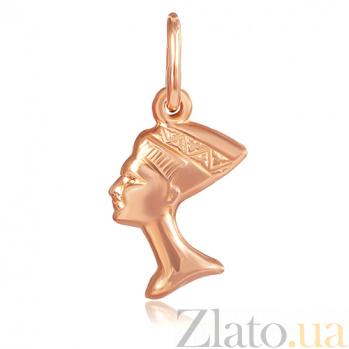 Серебряный подвес Звезда Египта с позолотой 000027497