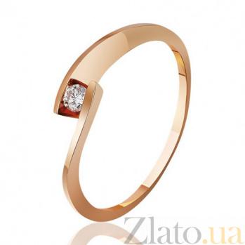 Кольцо из красного золота Беверли EDM--КД7491