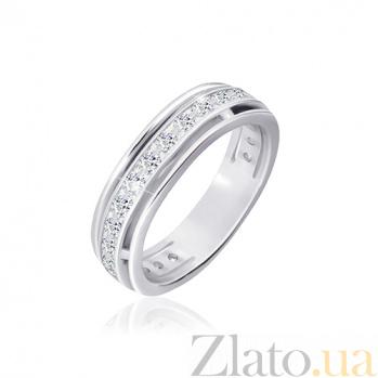 Кольцо из серебра Джованна с фианитами 000030914