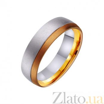 Золотое обручальное кольцо Магия моей нежности TRF--441486