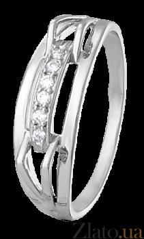 Серебряное кольцо с фианитами High Fashion 000025543