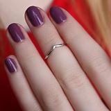 Серебряное фаланговое кольцо Светлый путь