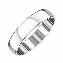 Обручальное серебряное кольцо 000133405