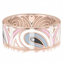 Обручальное кольцо из розового золота Талисман: Гармонии