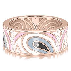 Обручальное кольцо из розового золота Талисман: Гармонии 000009999