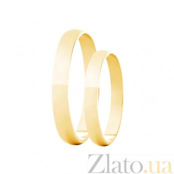 Золотое обручальное кольцо Счастье 2С143-0531