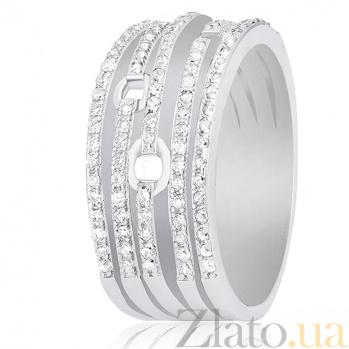 Кольцо из серебра Ясмин с цирконием 000030907