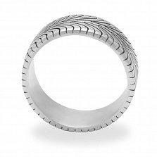 Кольцо из белого золота Nexen N3000(arr010nx) с чернением