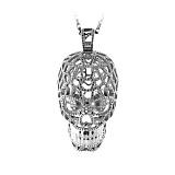Золотое колье с черным жемчугом и бриллиантами Часы Алхимика