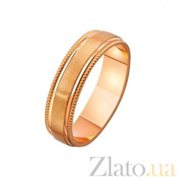 Золотое обручальное кольцо Любовный эликсир TRF--4111265