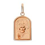 Золотая ладанка Святой Николай