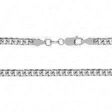 Серебряная цепь Колорадо с родированием