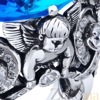 Серебряное кольцо Океания AUR--71805г