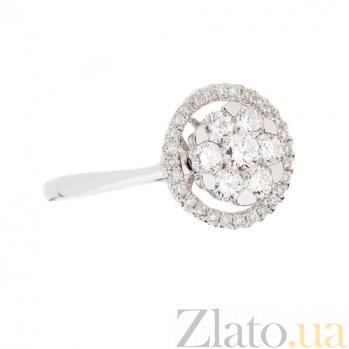 Золотое кольцо с бриллиантами Валерия 1К193-0499