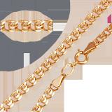 Золотой браслет Анжелика, 4мм