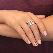 Серебряное кольцо с фианитами Фелисия