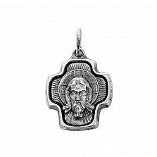 Серебряный крест Святой Лик
