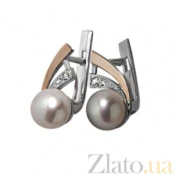 Серебряные серьги Восток BGS--275с ж