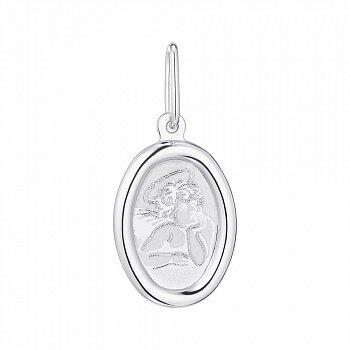 Серебряная ладанка Ангелочек 000122820